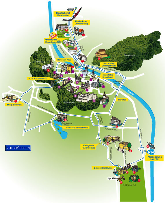 Salzburg_Hop On Hop Off_city map