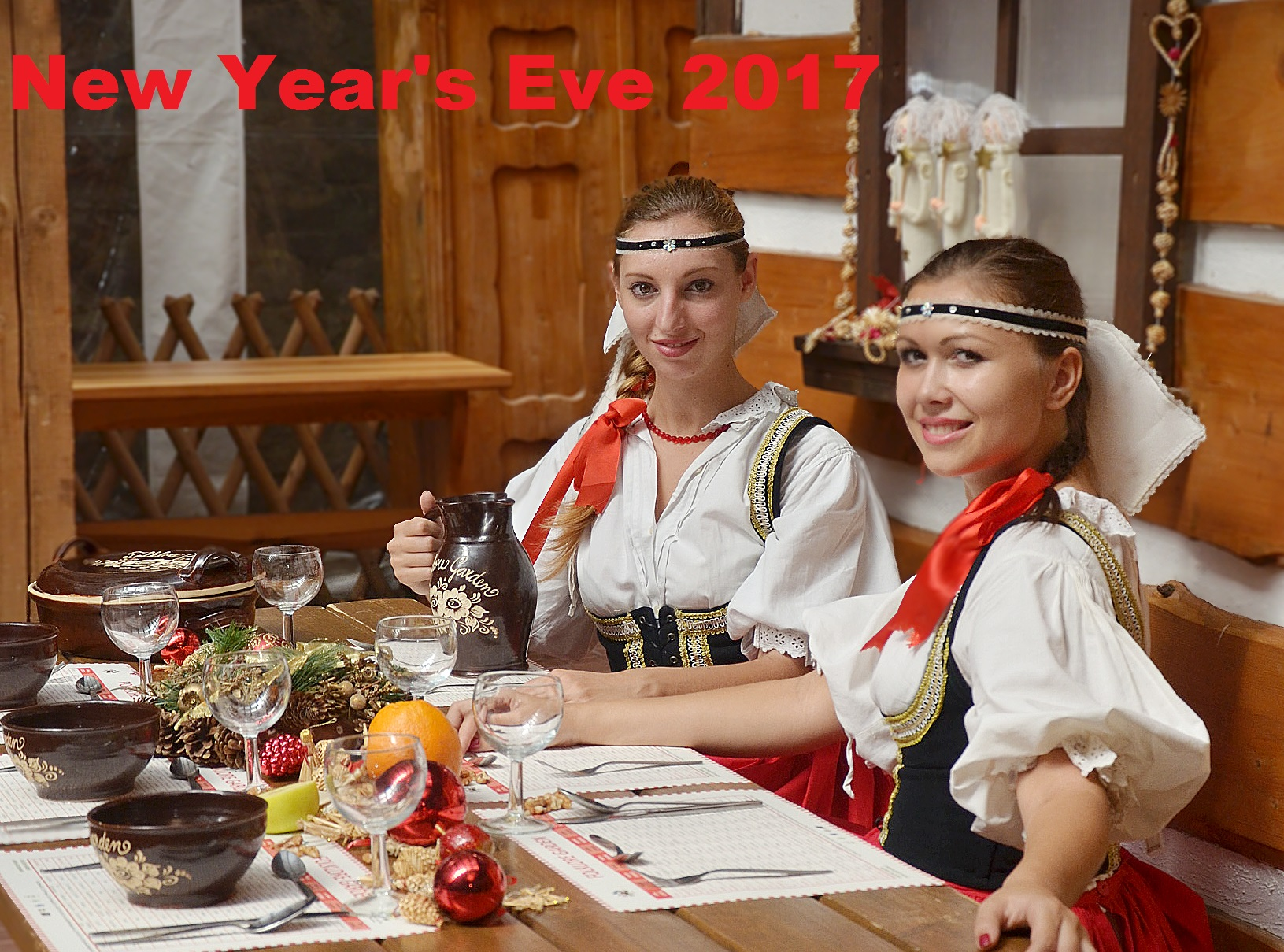 Prague: New Year Eve in Folklore Garden