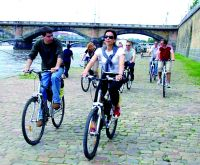 Prague city bike tour - classical or electric bikes