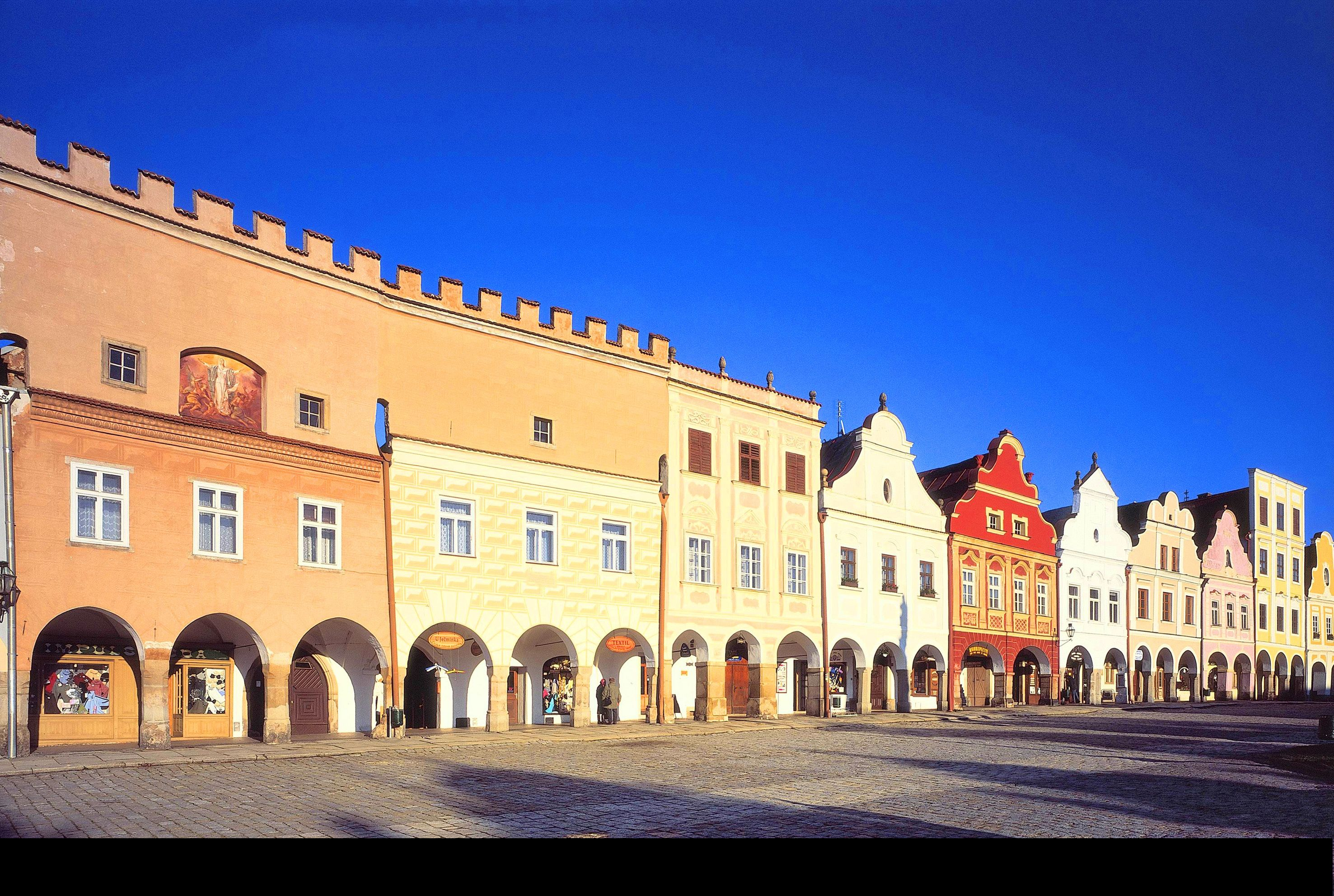 UNESCO world cultural heritage site - the town of Telč