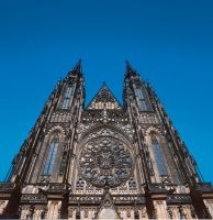 Prague castle in details