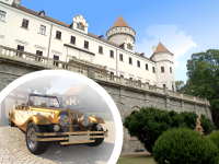 Historical car tours to Castles and Towns