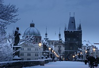 Charles Bridge in Winter nahled